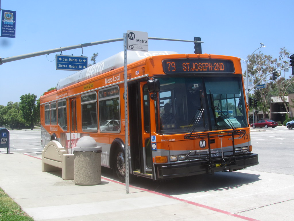 Los Angeles Metro Local Bus Serving San Marino Route 79