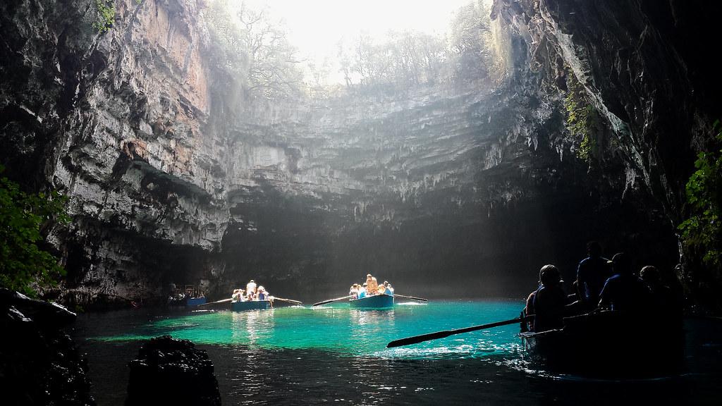 Melissani Höhlensee