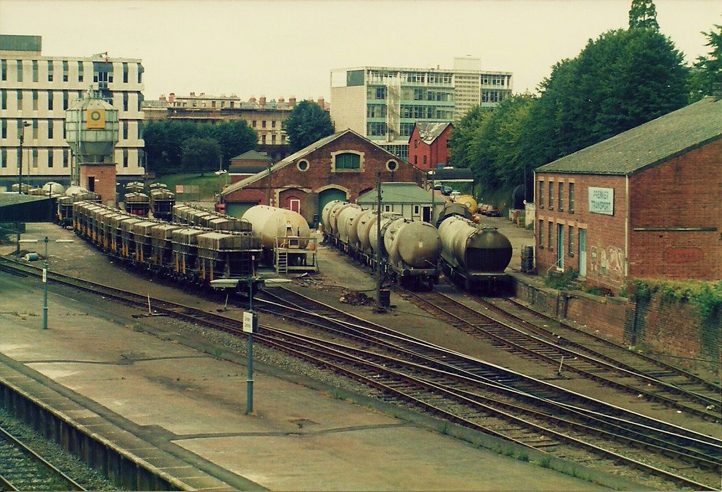 Exeter Central Goods Yard A Mixture Of Vacuum Fitted And