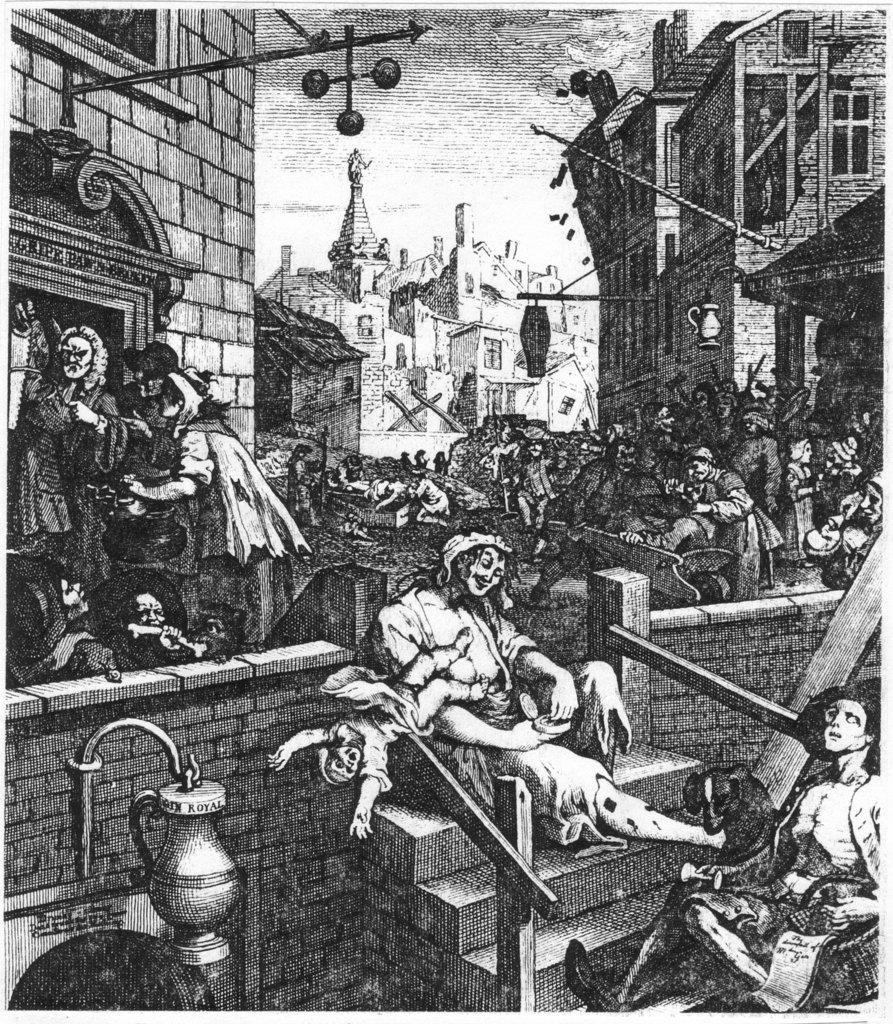 William Hogarth's Beer Street and Gin Lane Essay Sample