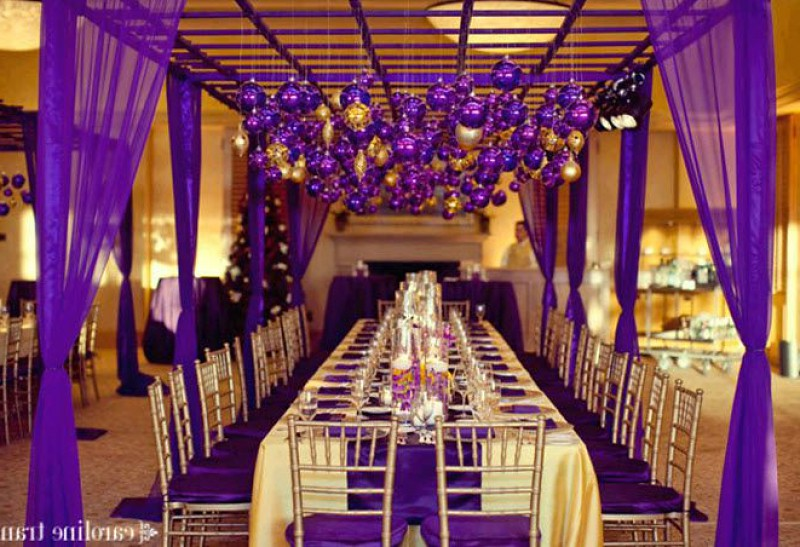 photos greatest purple and gold wedding decorations how to flickr. Black Bedroom Furniture Sets. Home Design Ideas