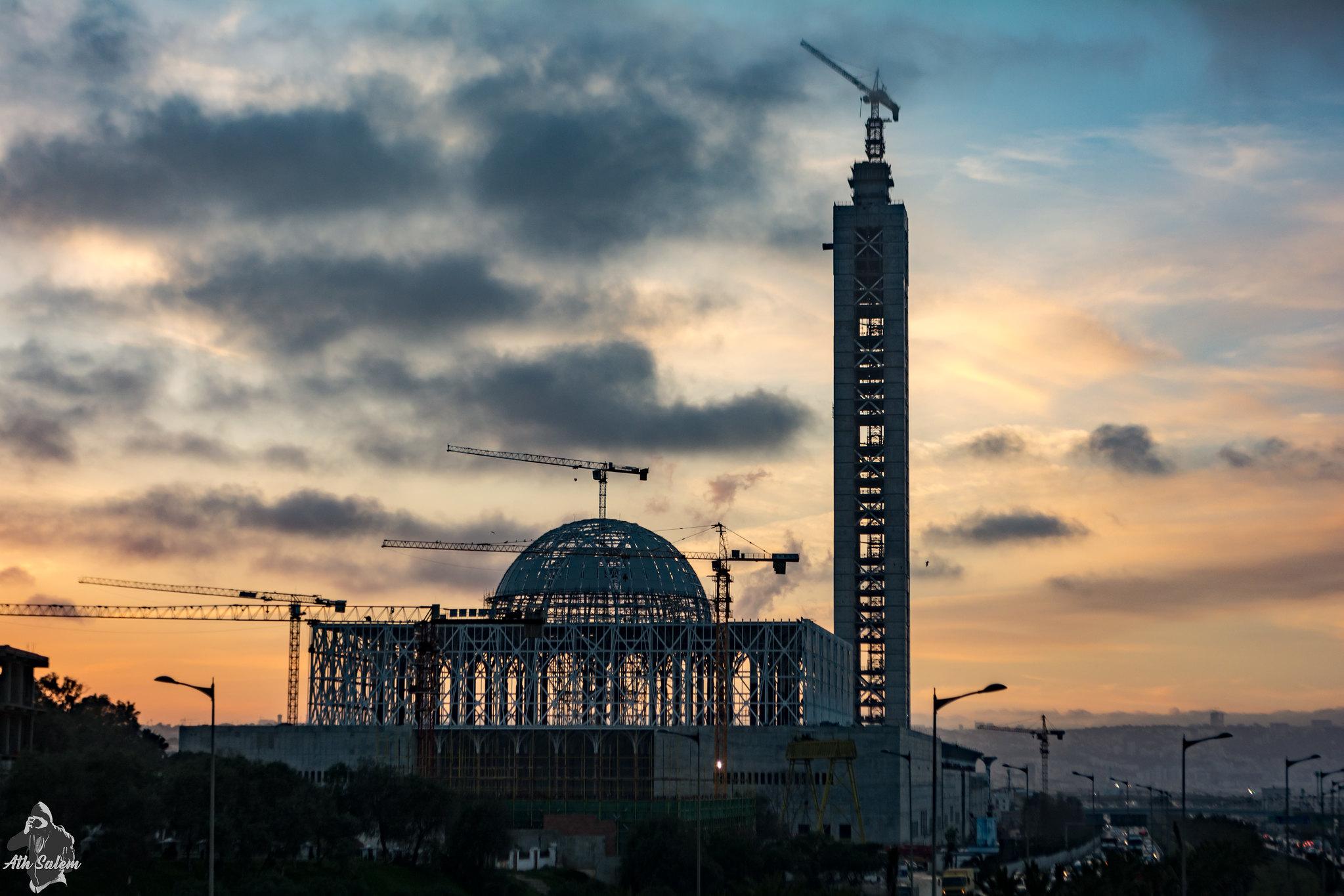 مشروع جامع الجزائر الأعظم: إعطاء إشارة إنطلاق أشغال الإنجاز - صفحة 19 33677556116_07b99c59ab_k