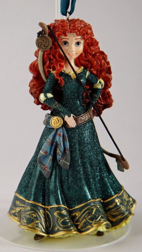 Disneyland Purchases - 2013-8-4 - 2013 Merida Figurine Orn ...
