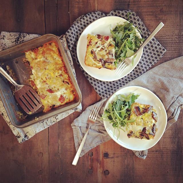 Pasta Frittata Recipe America S Test Kitchen