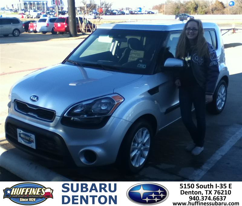 Thank You To Anthony Perkins On Your New 2013 Kia Soul F