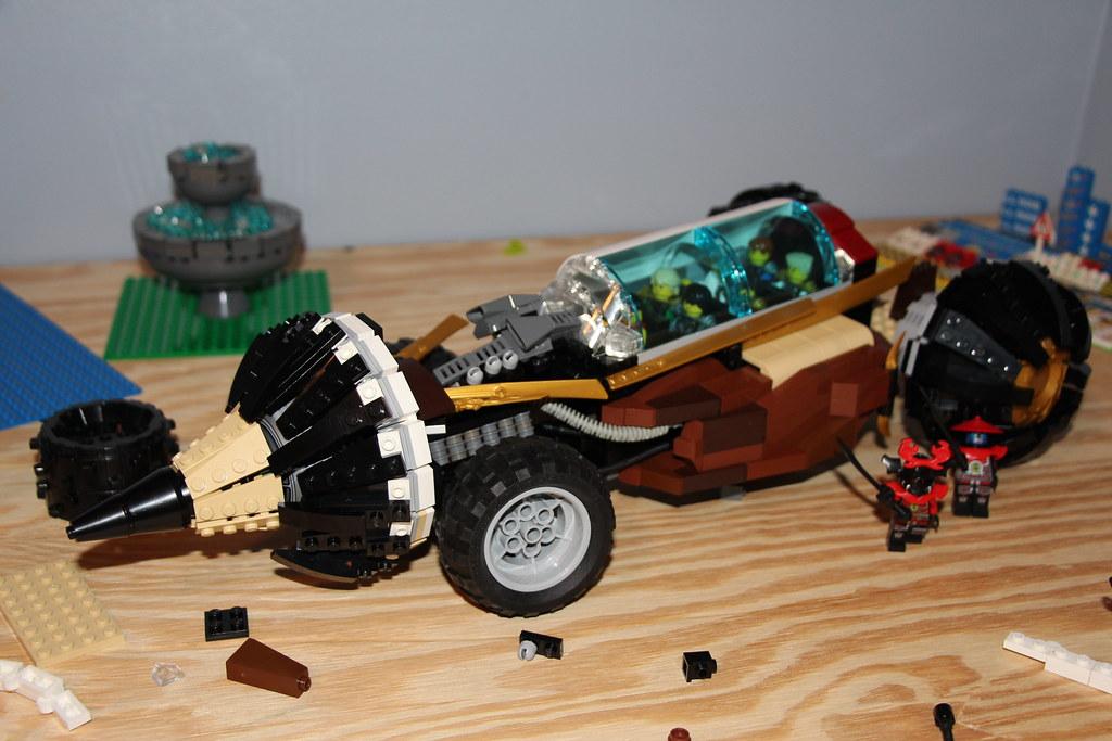 lego ninjago cole 39 s earth raider moc wip work in. Black Bedroom Furniture Sets. Home Design Ideas