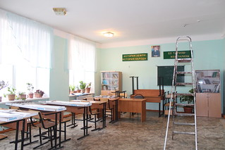 Modernizing lighting in Kazakhstan schools: before lighting replacement | by UNDP in Europe and Central Asia