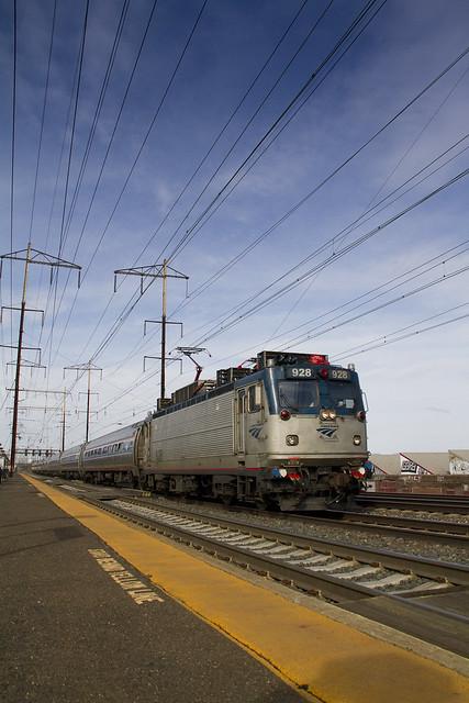 Amtrak AEM-7 with 8-Car Northeast Regional Train photo