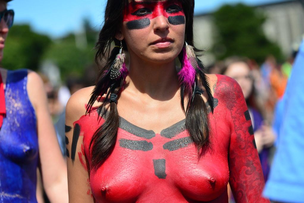 Amateur tits nude