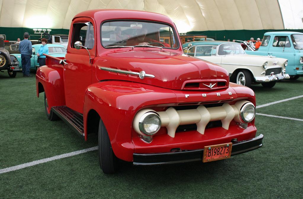 1952 ford f 1 half ton pickup truck 1 of 7 photographed flickr. Black Bedroom Furniture Sets. Home Design Ideas