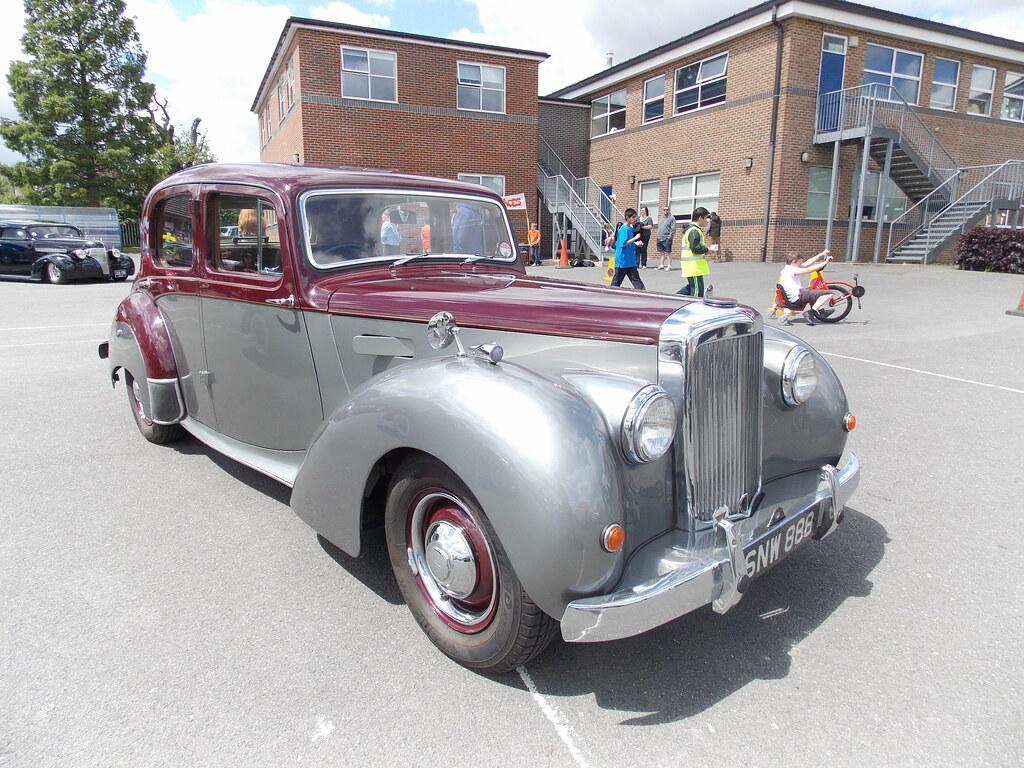 1953 Alvis Ta 21 Bexley Grammar School Car Show Bexley