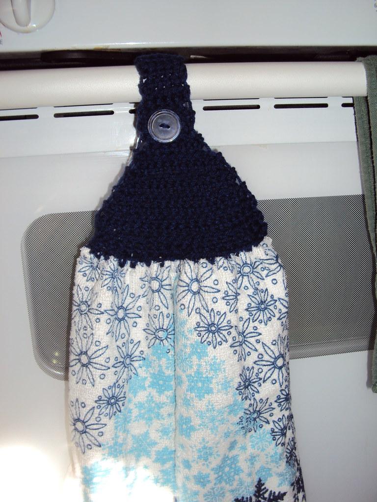 Free Crochet Pattern For Hand Towel Topper : Crochet towel topper Jessica Pegram Flickr