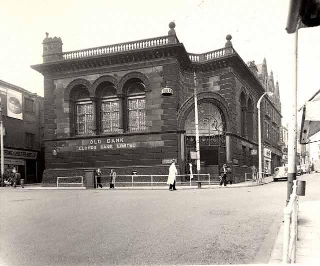 Old Bank Lloyds Bank Darwen Church Street Blackburn The