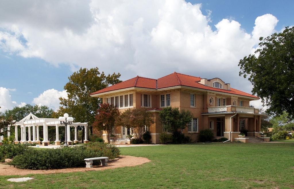 Swenson House 1726 Swenson Street Abilene Texas From
