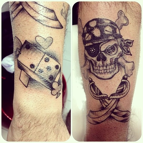 Domino Tattoo White Pictures To Pin On Pinterest Tattooskid