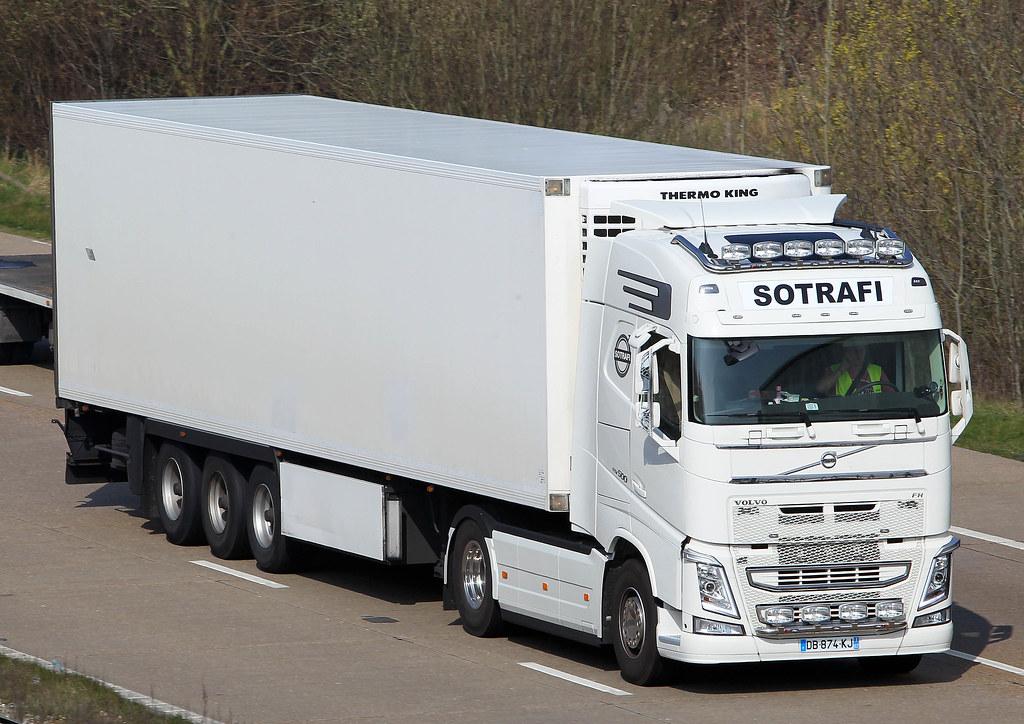 Volvo Fh New Look Db 874 Kj Sotrafi M20 Near Lenham