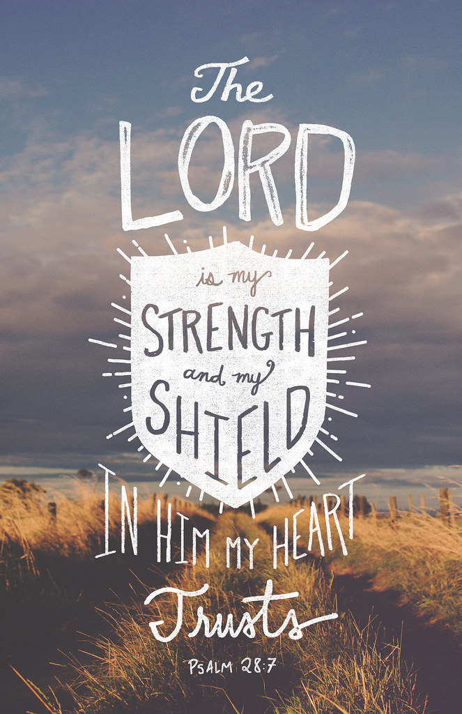 Psalm-28-7 | The LORD ...