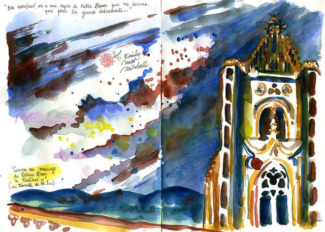 """Strasbourg, sur le toit de la cathédrale - """"Nous'autres, on fait sonner les cloches pour les grands événements seulement, comme le mariage de Céline Dion."""""""