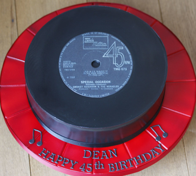 Vinyl Record Cake Flickr Photo Sharing