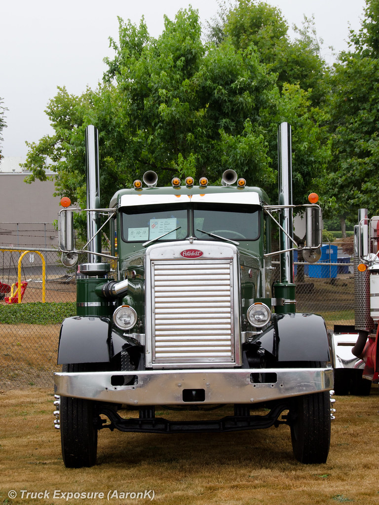 1966 peterbilt 281 18th annual nw chapter aths truck show aaronk flickr - Pictures of old peterbilt trucks ...