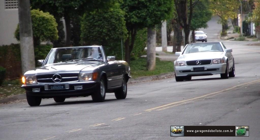 Mercedes benz 500 sl r107 x mercedes benz sl 500 r129 for Mercedes benz of tysons corner staff