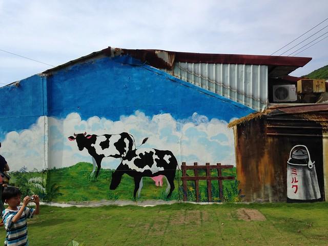 牛奶館彩繪。攝影:廖靜蕙