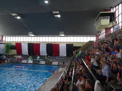 Wasserfreunde Spandau v ASC Duisburg (final match of German water polo championships)