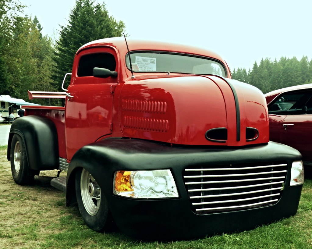 Biggest truck 1948 ford coe
