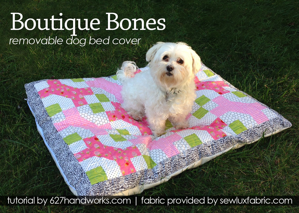 Quilted Dog Bed Tutorial