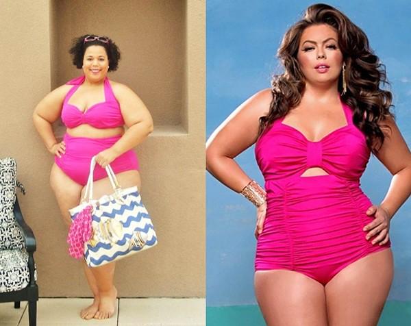 Fatkini  A Bikini For Fat Women  Via Trend Vogue Ifttt -8367