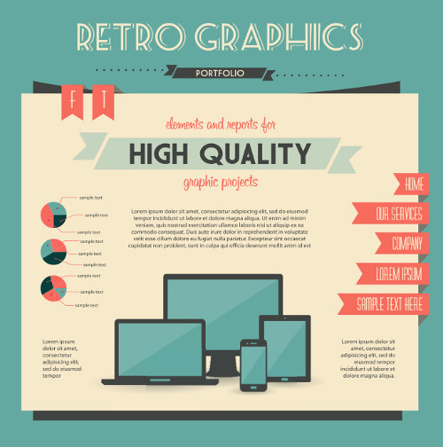 15916-economy-infographics-design-elements-vector-graphic-01