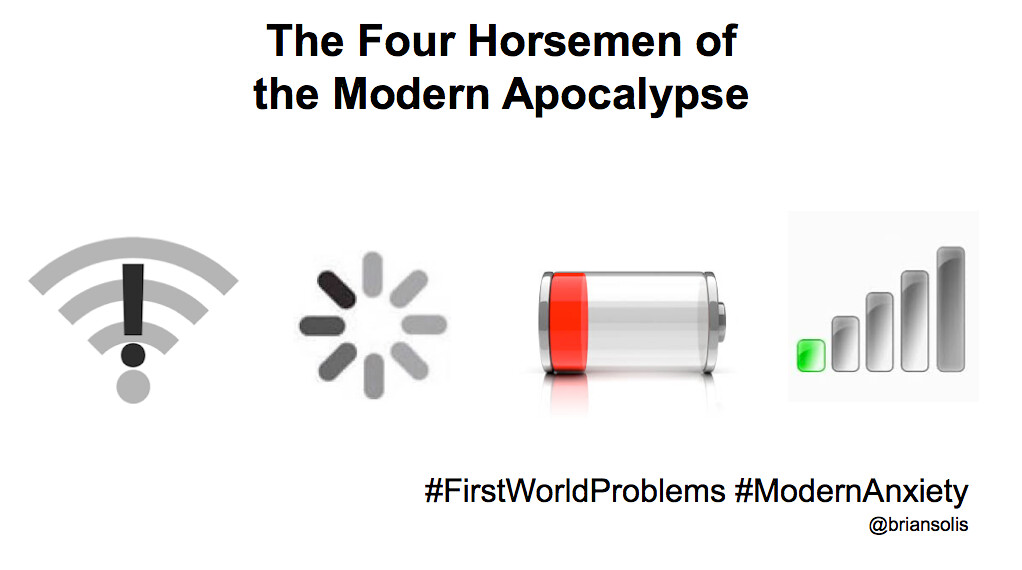 The Four Horsemen of the Modern Apocalypse | (cc ...