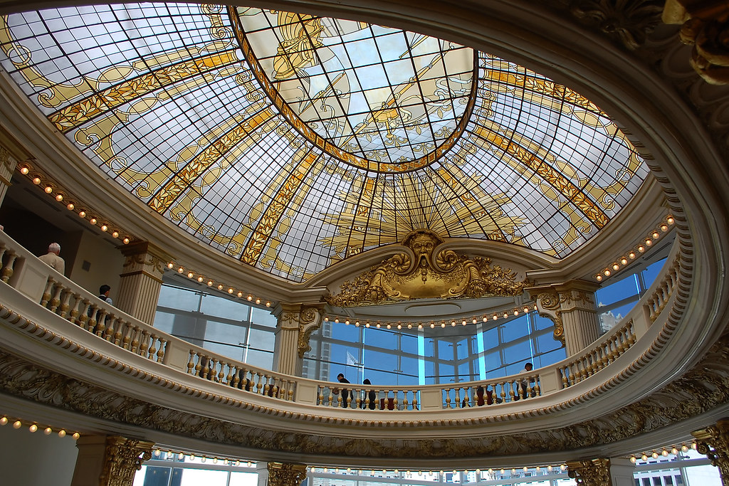 Stained Glass Ceiling Neiman Marcus Union Square The