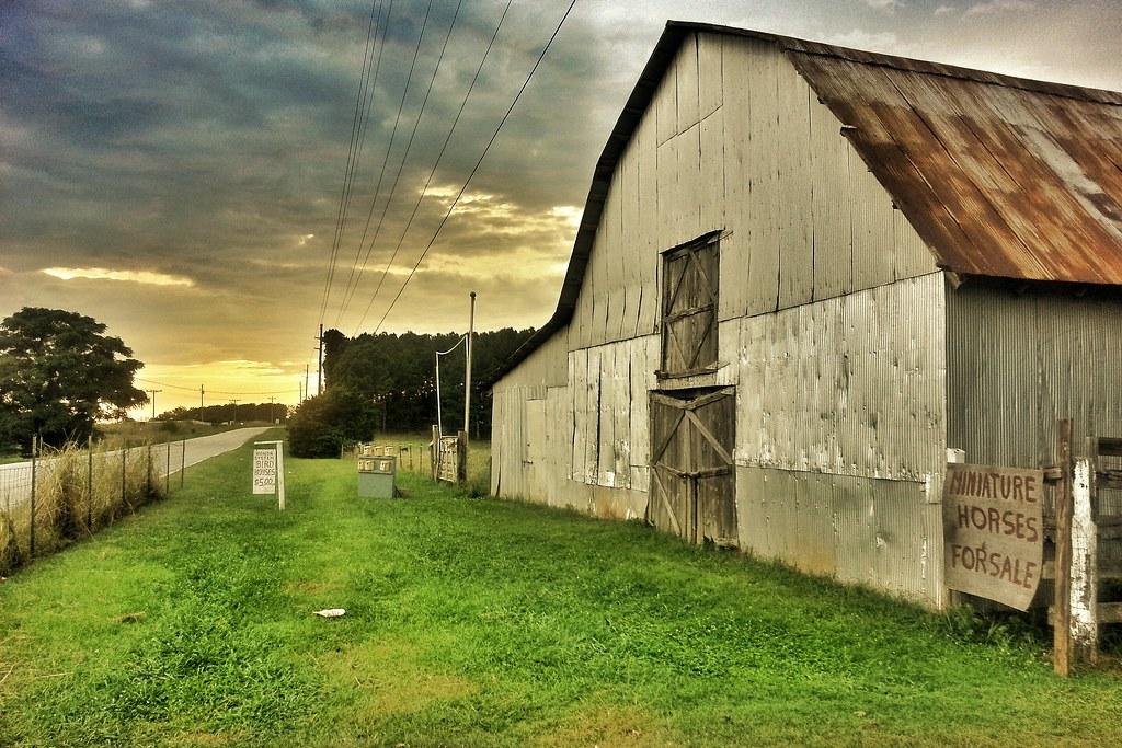 Bird House Barn After Walking Dead Season 4 Filming Flickr