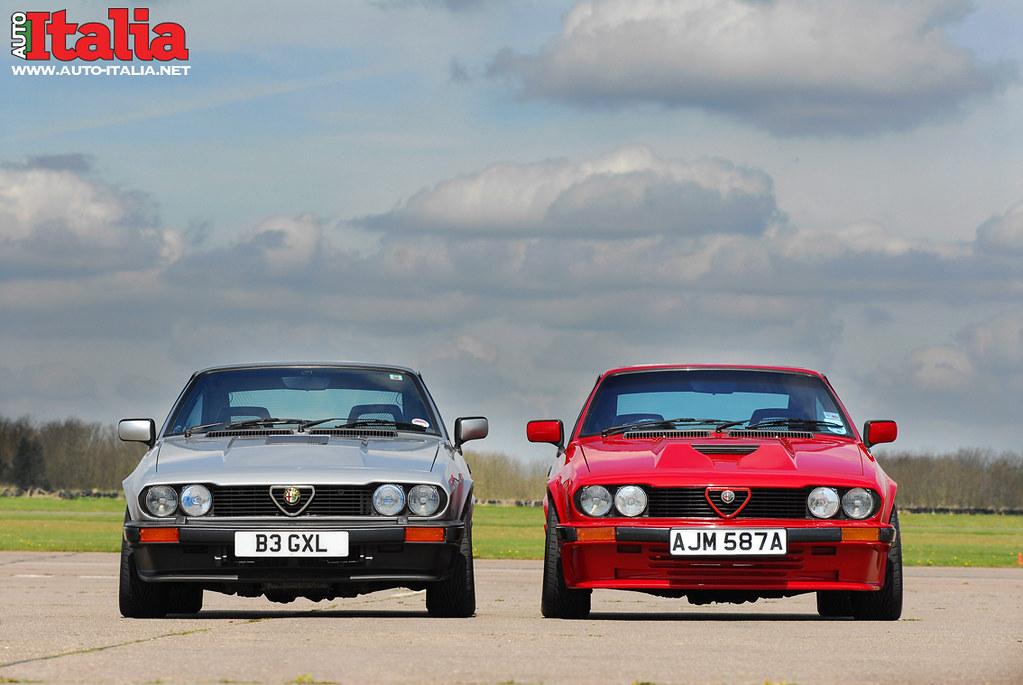 Alfa Romeo Gtv6 Auto Italia Amp Alex Jupe Featured In