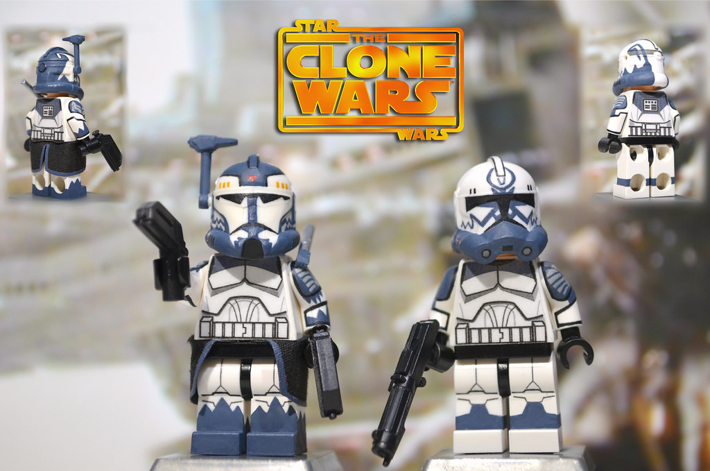 lego star wars the clone wars commander wolffe comet flickr. Black Bedroom Furniture Sets. Home Design Ideas