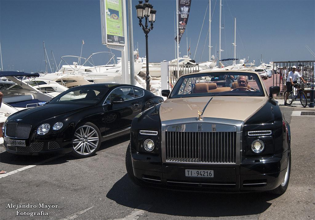 Bentley Continental Gt Speed 2012 And Rolls Royce Phantom