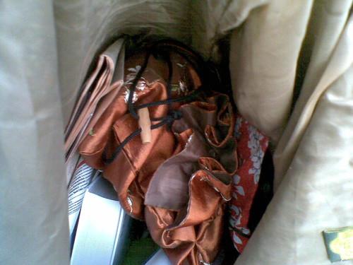 мешок с рукоделием