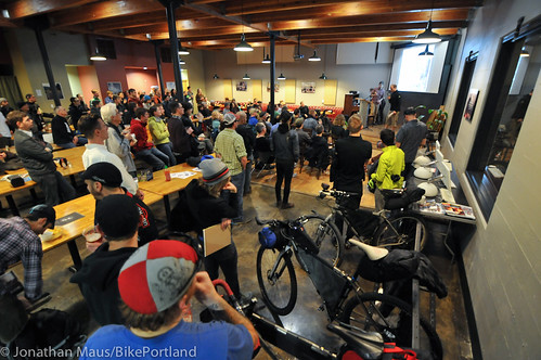Bikepacking 101 event at Chris King HQ-1