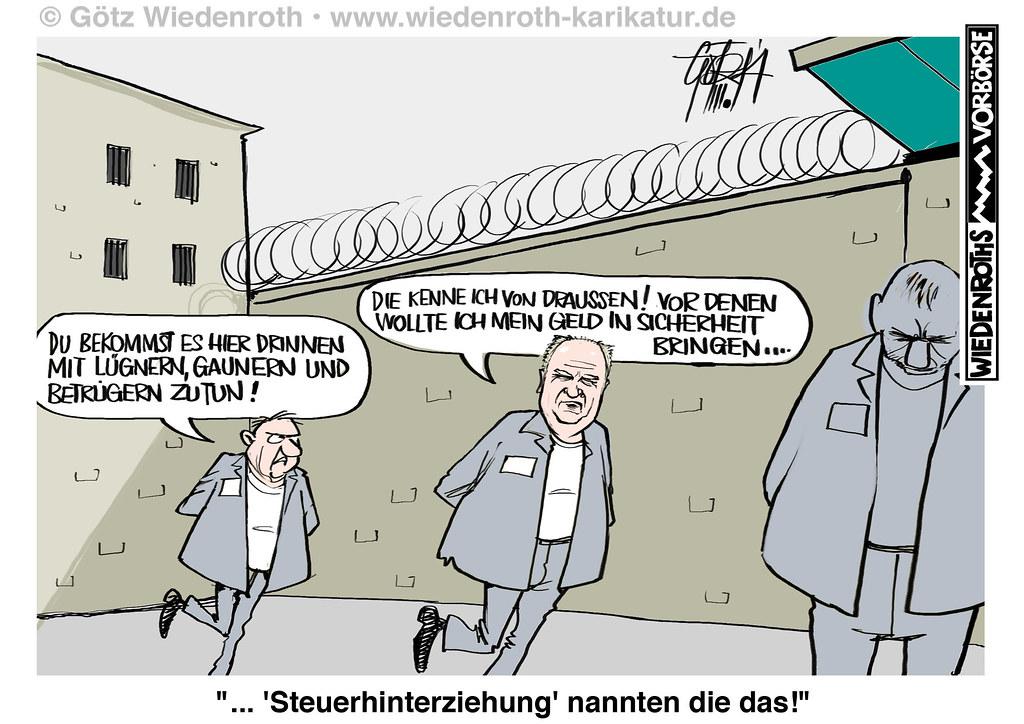 Steuerhinterziehung Gefängnis