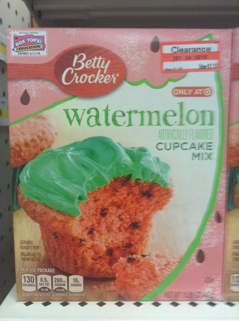 "Betty Crocker Watermelon Cake and Cupcake Mix ""Target Excl ..."