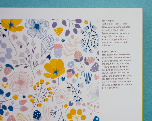 spring-like floral pattern