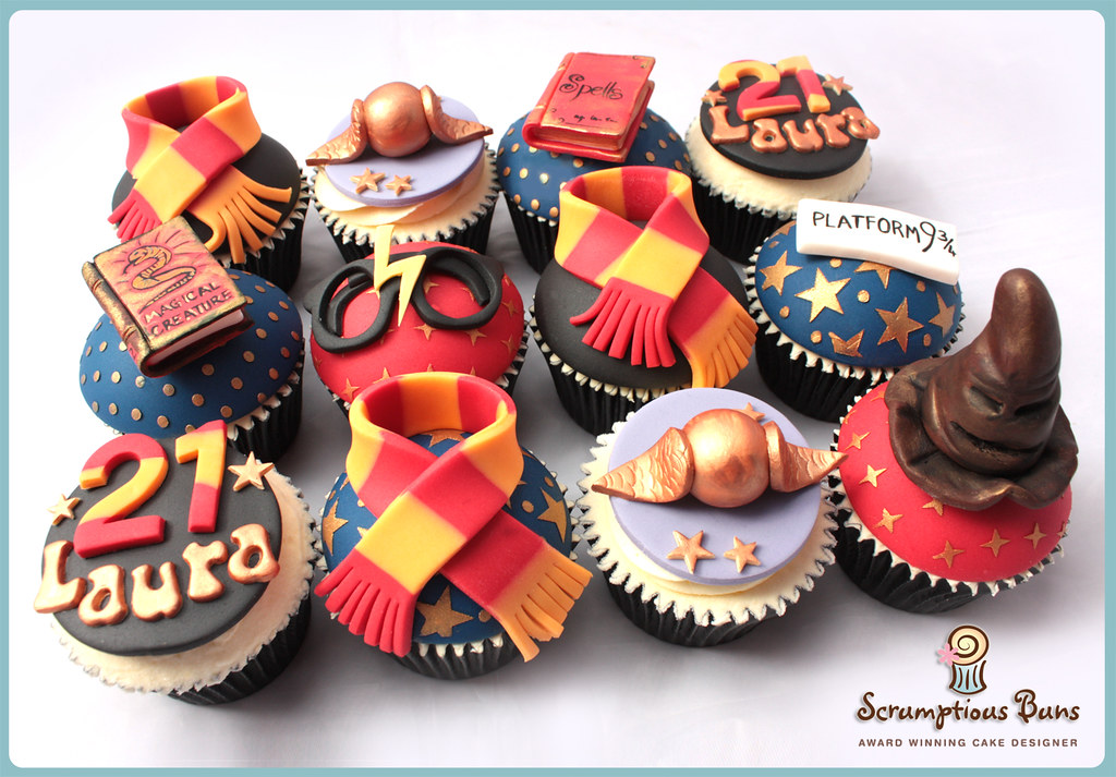 Harry Potter Cupcakes Samantha Douglass Flickr