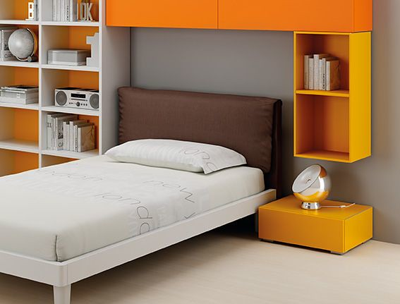 Letto ginger wood slim lh28 start solution letto da una pi flickr - Letto moretti compact ...
