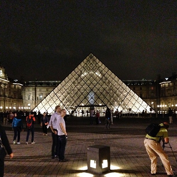 The Louvre Pyramid by I.M. Pei (1989) #architecture #archdaily #france ...