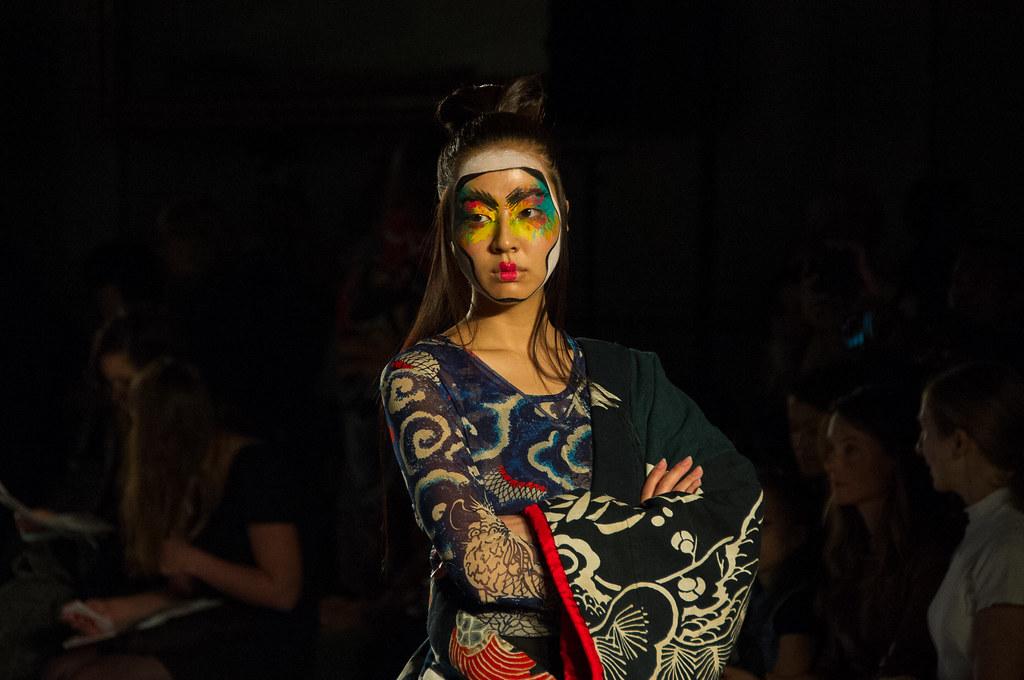 Kansai Yamamoto Designer Kansai Yamamoto Fashion Show v Amp a 1 November 2013