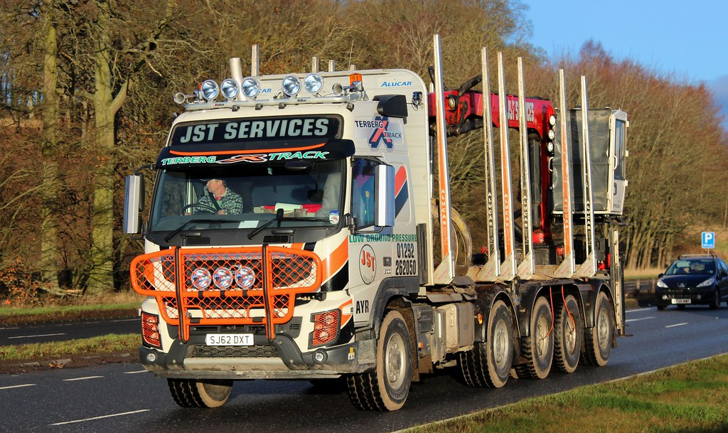 VOLVO Terberg X Track - JST SERVICES Ayr | SJ62 DXT........A… | Flickr