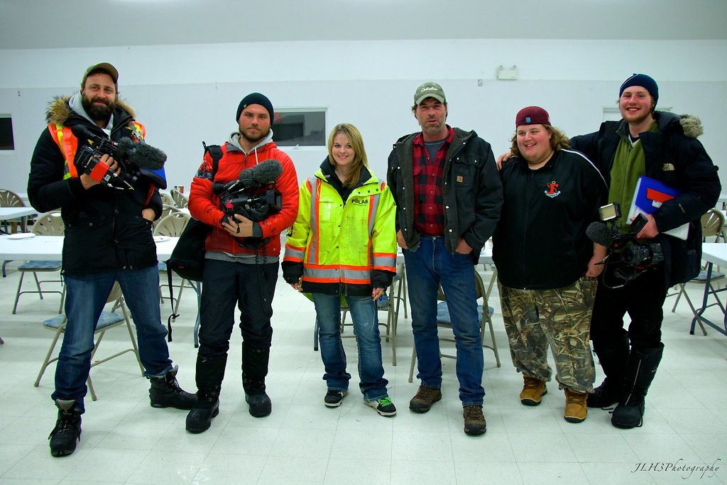 Lisa Kelly & Darrell Ward with the Ice Road Truckers Crew ...