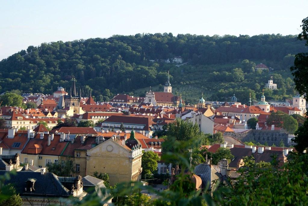 > Quartier de Mala Strana à Prague.