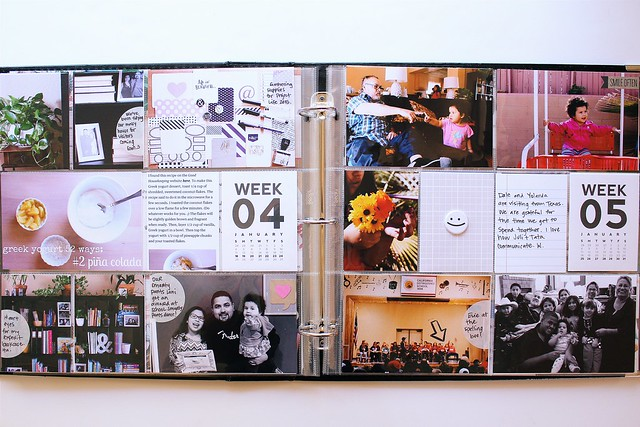 january  2015 & february 2015 :: pocket memory keeping // project life